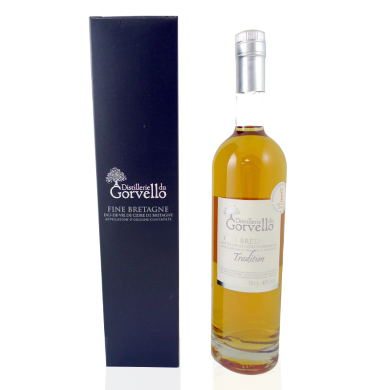 FINE BRETAGNE TRADITION <br> 70 cl 40% Le Gorvello