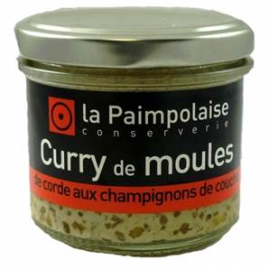 CURRY DE MOULES AUX CHAMPIGNONS