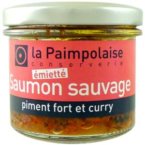 ÉMIETTÉ DE SAUMON SAUVAGE Au Piment et Curry.