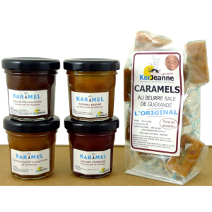 "Coffret gourmand: ""KARIMEL EN FOLIE""."