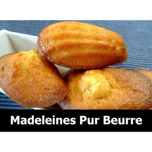 MADELEINES PUR BEURRE.